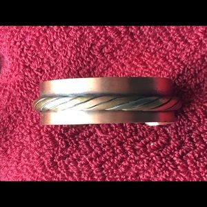 Jewelry - Solid copper vintage cuff bracelet